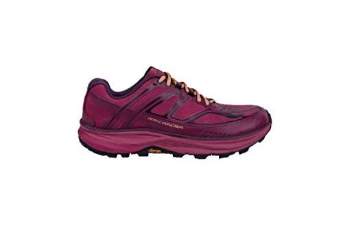 Topo Athletic MTN Racer - Scarpe da Corsa da Donna, Unisex - Adulto, Scarpa, W033-080-bergld, Berry/Gold, 8 M US