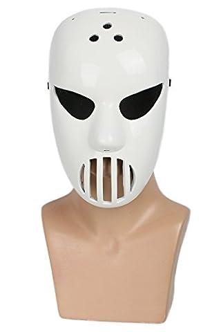 Cosplay Blanc Résine Ice Hockey Masque Halloween Robe de Fantaisie