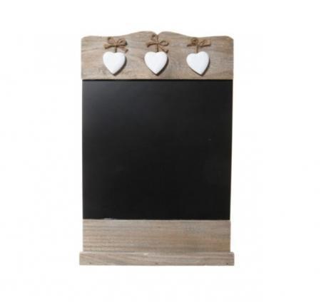 pizarra-de-madera-en-forma-de-corazon