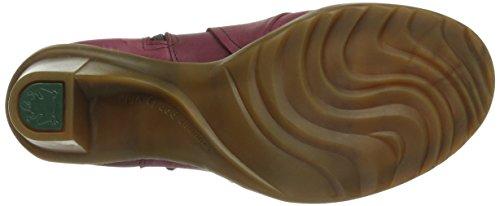 El Naturalista N566 Cares Wood / Duna, Bottes femme Rouge