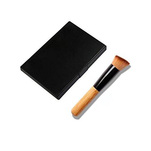 1 Ensemble De 15 Correcteur De Couleur + 1 Pinceau De Maquillage Rawdah 15 Colors Makeup Concealer Contour Palette + Makeup Brush