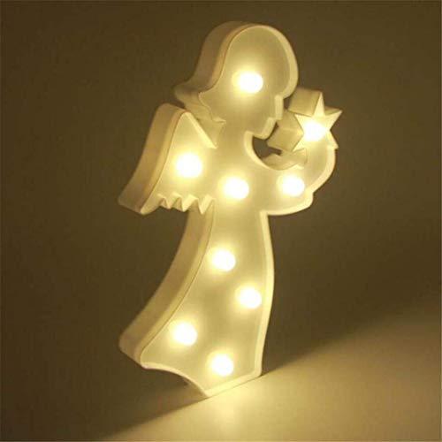 QiXian Lumière de Nuit Petite Fille de Tirer Décoratif LED Lumière Props Mignon Chambre des Enfants Styling Nuit Lumière Rêve Tenture Murale Lampe de Table