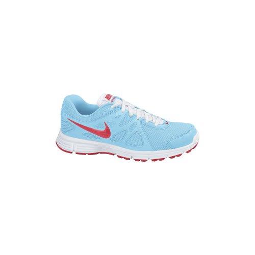 Nike , Mädchen Laufschuhe Azul / Blanco