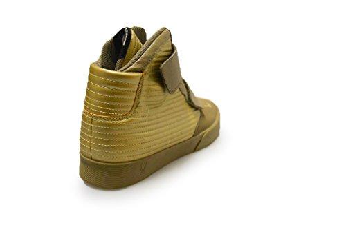 Nike Flystepper 2k3, Scarpe da Basket Uomo Dorato (Bmb / Mtlc Gldn Tn-Mtlc Gldn Tn)