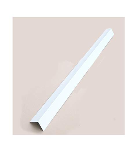 Winkelbleche Blechwinkel Kantbleche Dachbleche Abschlußbleche Dach Alu weiss RAL 9010 (30mm x 30mm)