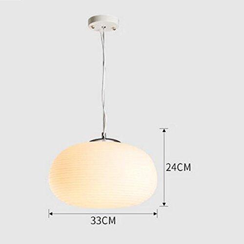 Ovale Waben-Pendelleuchten, moderne Esszimmer Deckenleuchte, weiße Streifen Glas Pendelleuchte , c paragraph