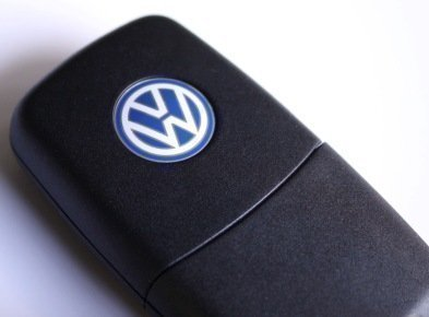 Original Volkswagen VW Emblema VW Llaves de Coche / Control Remoto