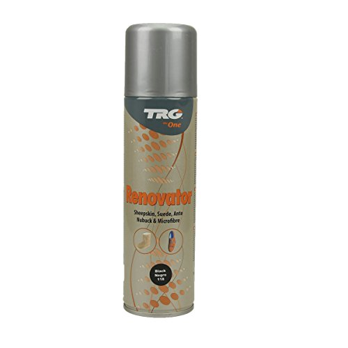 TRG Renovator Wildleder Nubuk Microfaser Pflegespray Imprägnierspray (schwarz)