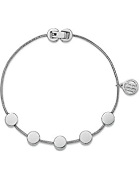 Tommy Hilfiger Damen-Armband Classic Signature Edelstahl One Size, silber