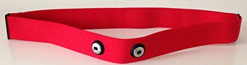 Ersatz Soft Strap ROT - RED Brustgurt Größe M-XXL - für POLAR Modelle geeignet H1 , H2 , H3 , H6 , H7 , H10 in Größe M-XXL