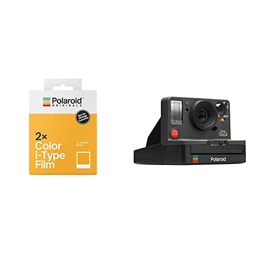 b11e31d8c6 Polaroid Originals Bundle Camera + 1 Film Pack - OneStep2 Black (9009) +  Color