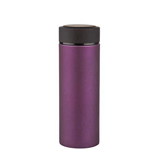 Ambiguity Thermosflasche,Gefrostet gerade Auto Tasse Kaffeetasse Edelstahl Isolierung 6-12 Stunden