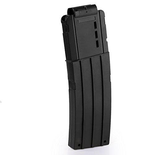 HYZH 1 Stück Soft Bullet Magazin 15-Dart Quick Reload Clip Bullet Clip für Nerf N-Strike Elite Serie Spielzeuggewehre-Schwarz