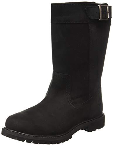 Timberland Nellie Pull on Waterproof, Botas para Mujer, Negro Black Full Grain, 41 EU