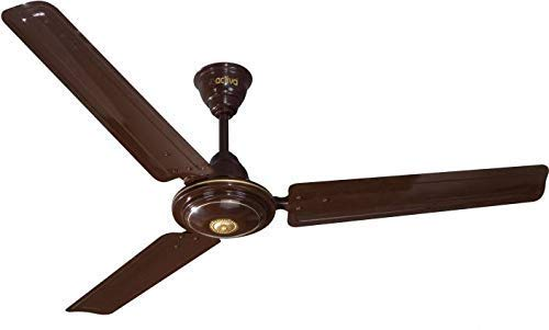 ACTIVA 390 RPM 1200mm High Speed BEE Approved 5 Star Rated Apsra Ceiling Fan Brown-2 Year Warranty
