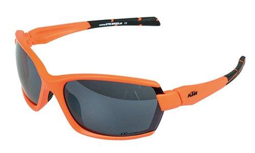 KTM Sonnenbrille FC Orange Skibrille Fahrradbrille inkl. Key Holder (5-193)