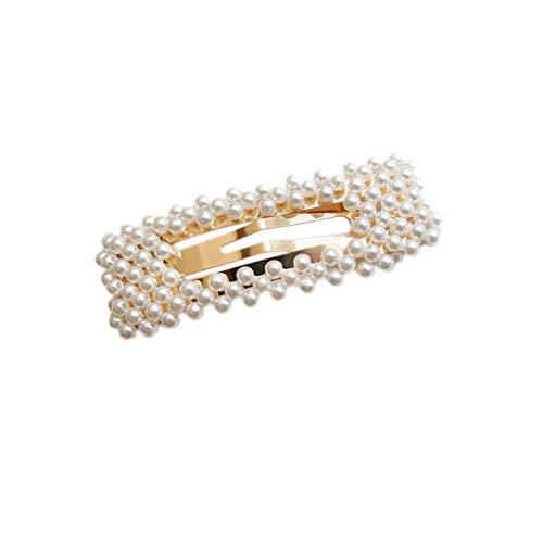 t Perle Haarnadeln Frauen Mädchen HaarBarrettes Handgemachte Brautjungfer Haar-Klipp-Zubehör ()