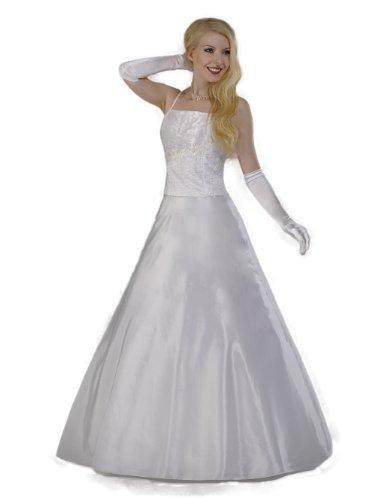 Austen - 1001 TANJA Brautkleid / Abendkleid 2-teilig in Weiß Gr.38 / 165cm (M)