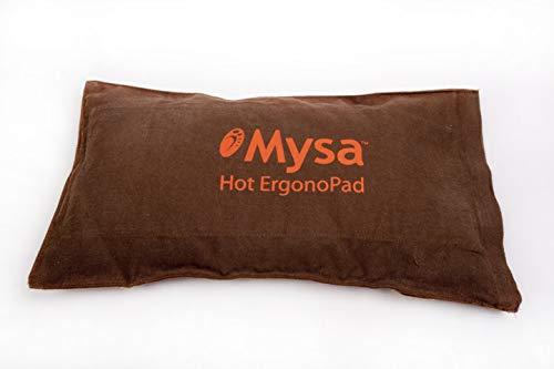 Mysa Hot ErgonoPad Lendenwirbelstütze / gürtel / Korsett: Rückenschmerzen / deine Haltung zu verbessern . Mysa-Matten integriert:ergonomischer und erhitzbar.Naturfasern. + TUTORIAL