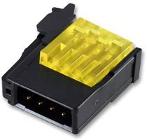 te-connectivity-1473562-8-wire-to-board-connector-yellow-rits-series-idc-idt-plug-8-contacts-4-mm-10