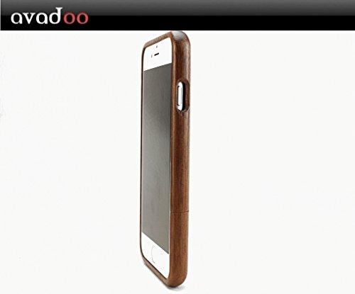 avadoo® iPhone 6 Holz Case Kirschholz Schutzhüllen Cover für das iPhone 6 - avadoo® Echt Holz Case Schutz für iPhone 6 Kirschholz