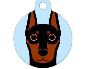 Pet ID Tag – Doberman Pinscher