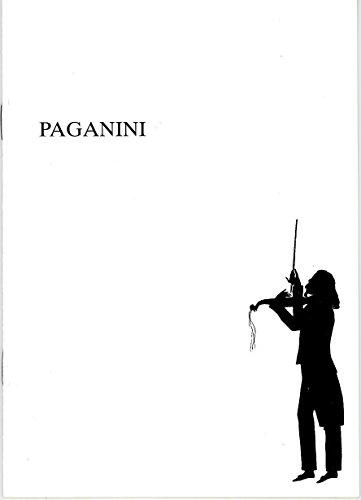 Programmheft PAGANINI. Operette. Premiere 29. September 1991 im Großen Haus. Spielzeit 1991 / 92