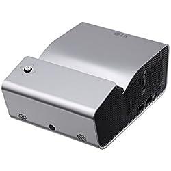 "LG PH450UG - Proyector LED portátil de Tiro Ultra Corto (80"" a 33 cm), HD Ready 720 (Pantalla de hasta 80 Pulgadas, batería de 2,5 Horas y lampara LED de hasta 30.000 Horas de Vida útil)"