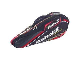 Babolat Schlägertasche Racket Holder X3 Aero Line, schwarz, 76 x 18 x 33 cm, 45 Liter, 751040-144 (Racket Holder)