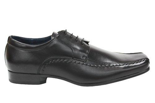 Mr Shoes , Chaussures de ville à lacets pour homme Noir noir 0 UK Noir - noir