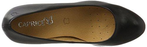 Caprice 22406, Scarpe con Tacco Donna Nero (Black Nappa)