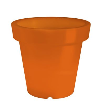 Pot Lumineux Orange de BLOOM! (H60cm x 66cm Diam)