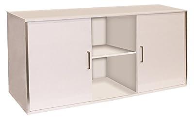 Wave A6006775 Schrank Design Cube, 150 x 55 x 73 cm, Glossy weiß