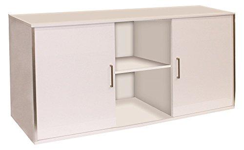 Wave Cube (Wave A6006775 Schrank Design Cube, 150 x 55 x 73 cm, glossy weiß)