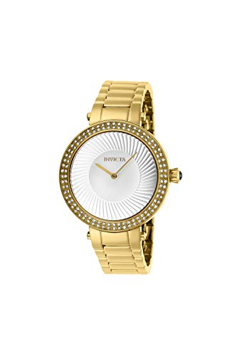 Invicta Women's Specialty Gold-Tone Steel Bracelet & Case Quartz Watch 27004