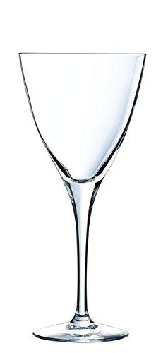 Cristal d'Arques L6643 Set de 6 Verre à Pied, Transparent