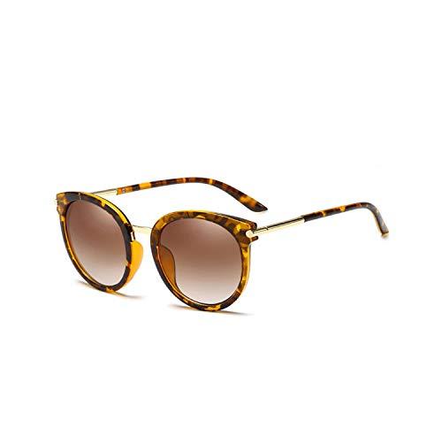 Sport-Sonnenbrillen, Vintage Sonnenbrillen, Fashion Sunglasses Polarized Sun Glasses WoMänner Legierung Round Glasses Man Sunglasses NEW Eyeglasses UV400 0117 tortoise