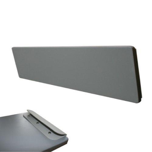 ULYZ Holzbank für aufblasbare Boote (Grau, 85 cm)