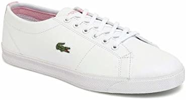 Lacoste Junior Blanco & Rosa Marcel LCR Zapatillas