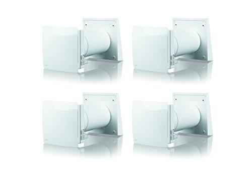 Wohnraumlüftung Häuselbauer-Set Pro - inkl. digitalem Hygrometer und Jahresbedarf an Luftfiltern