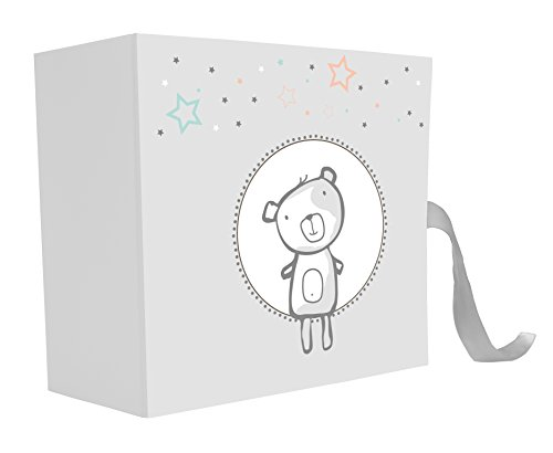 Emotion 271340 TENDRES Annees Coffret Bebe, Papier-Carton, Gris, 9 x 21 x 21 cm