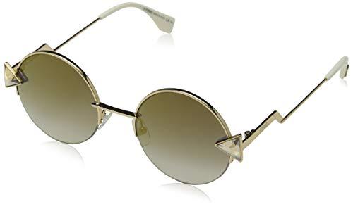 Fendi Damen FF 0243/S FQ 000 51 Sonnenbrille, Rose Gold Grey