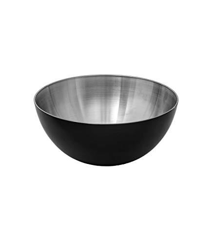 Secret de Gourmet - Saladier inox noir 19cm