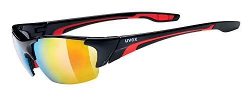 Uvex Blaze III Gafas de ciclismo, Unisex adulto, Negro, Talla única