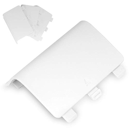 iefach, (4 Stück) Ersatz Replacement Case Schutzcase Cover für Xbox One / Xbox One S Wireless Controller, Weiß ()