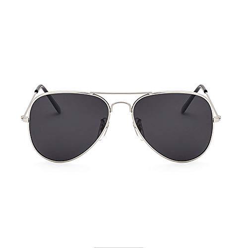 Szblk Titanlegierung Sonnenbrillen Driving Sonnenbrillen Outdoor-Sonnenbrillen Polarisierte Sonnenbrillen Gehärtetes Glas Objektiv Ovale Gläser (Color : Black1)
