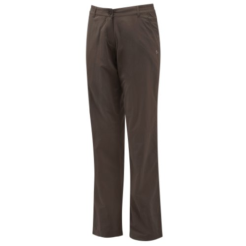 Craghoppers NosiLife Pantalon long pour femme Marron Cacao 8 Long