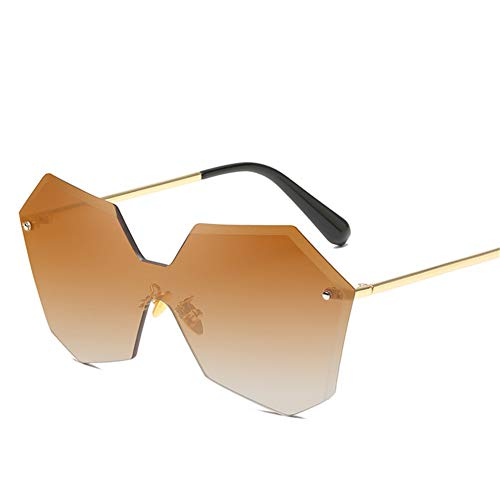 Wenkang Women Frameless Sunglasses Sun Glasses Multilateral Designer Man Sunglasses Women Fashion Glasses Uv400,2