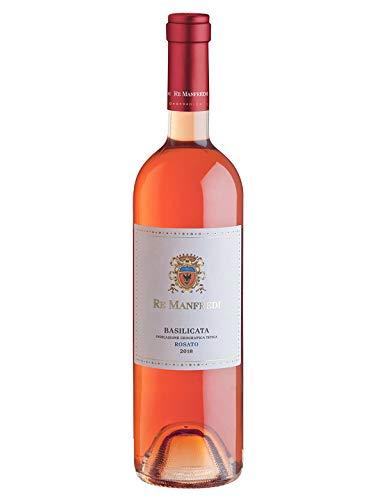 MANFREDI ROSA Rosato Basilicata IGT - Re Manfredi - Vino rosato fermo 2018 - Bottiglia 750 ml