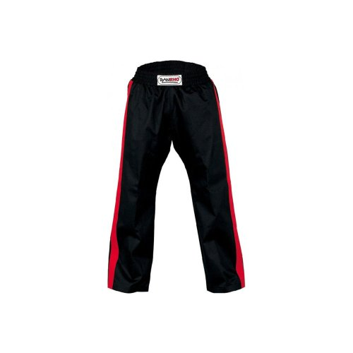 "DANRHO Kampfsport Hose ""Freestyle"", Schwarz/Rot Danrho 190 cm"